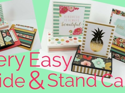 Easy Slide & Stand Card | Video Tutorial