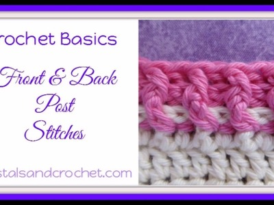 back post double crochet instructions