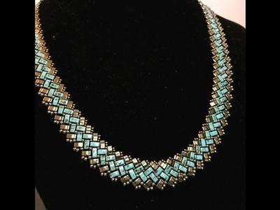 Half A Tila Necklace - DIY