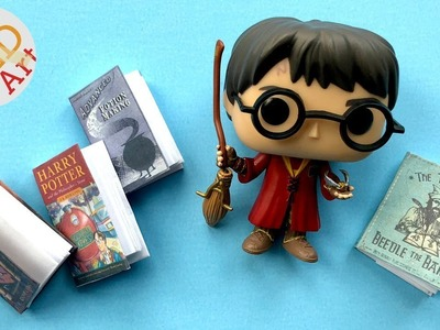 Harry Potter Notebook DIY   Easy Mini Notebooks for Harry Potter DIY fans