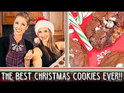 HOLIDAY BAKING || Caramel & Chocolate Filled Cookies Recipe