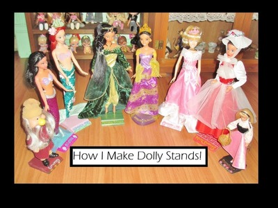 How I Make Dolly Stands!