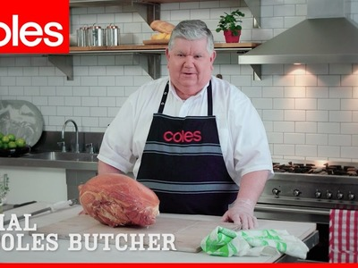 How to carve a ham with Mal the Coles butcher