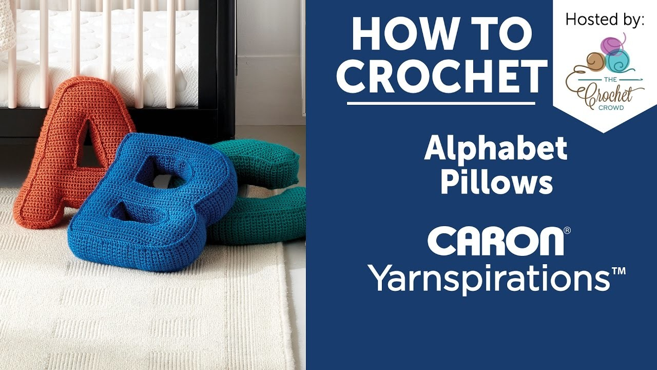 How to Crochet A Pillow  Letter O