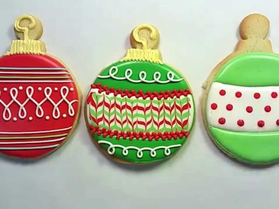 How to Decorate an Ornament Cookie