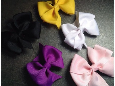 HOW TO: Make a Pinwheel Hair Bow