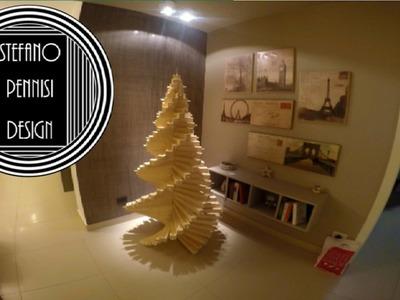 How To Make a Spiral Wooden Christmas Tree - Come Fare un Albero Di Natale In Legno A Spirale