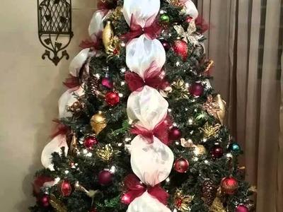 How To Make A Victorian Dress Form Christmas Tree 2015