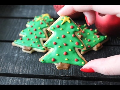 How To Make Christmas Tree Cookies - By One Kitchen Episode 337