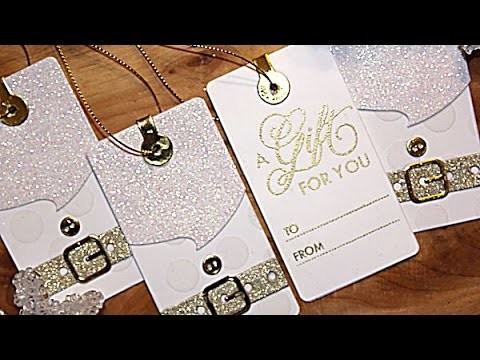 [In the Details] Make Elegant White & Gold Santa Gift Tags with Nichol