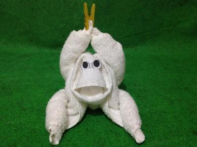 LITTLE MONKEY - TOWEL CREATION | TUTORIAL | TIPS | CARA | DIY | HOW TO