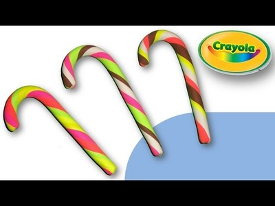 Making of Candy Canes from Crayola