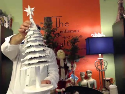Making The Wintry Wonderland Tree Part 2