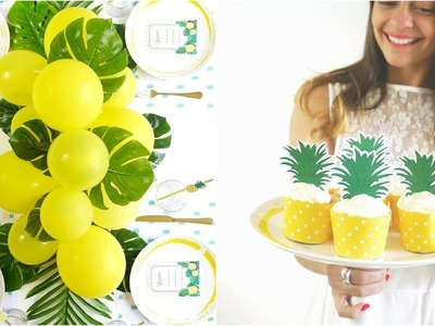 Pineapple Party Ideas | BirdsPartyTricks
