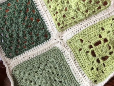 Row by Row Join as you go (JAYG) - Joining motifs for blanket crochet