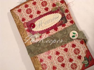 """Swap Junk Journal for the """"Jingle in July"""" Swap"""