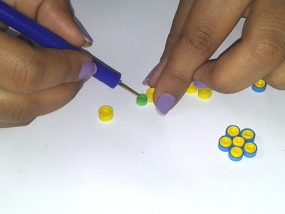 4.How to make a Quilling Flower Part 1