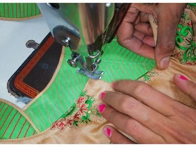 Beautiful and atractive designer neckline cutting and stiching