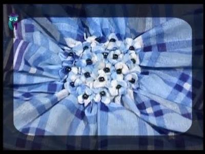 "Create the remarkable brooches ""Komono"" from the handkerchiefs. Diy. Handmade"
