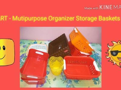 D Mart Multipurpose Kitchen Organizer Baskets Shopping Haul. CHEAPEST SHOPPING IN D MART.