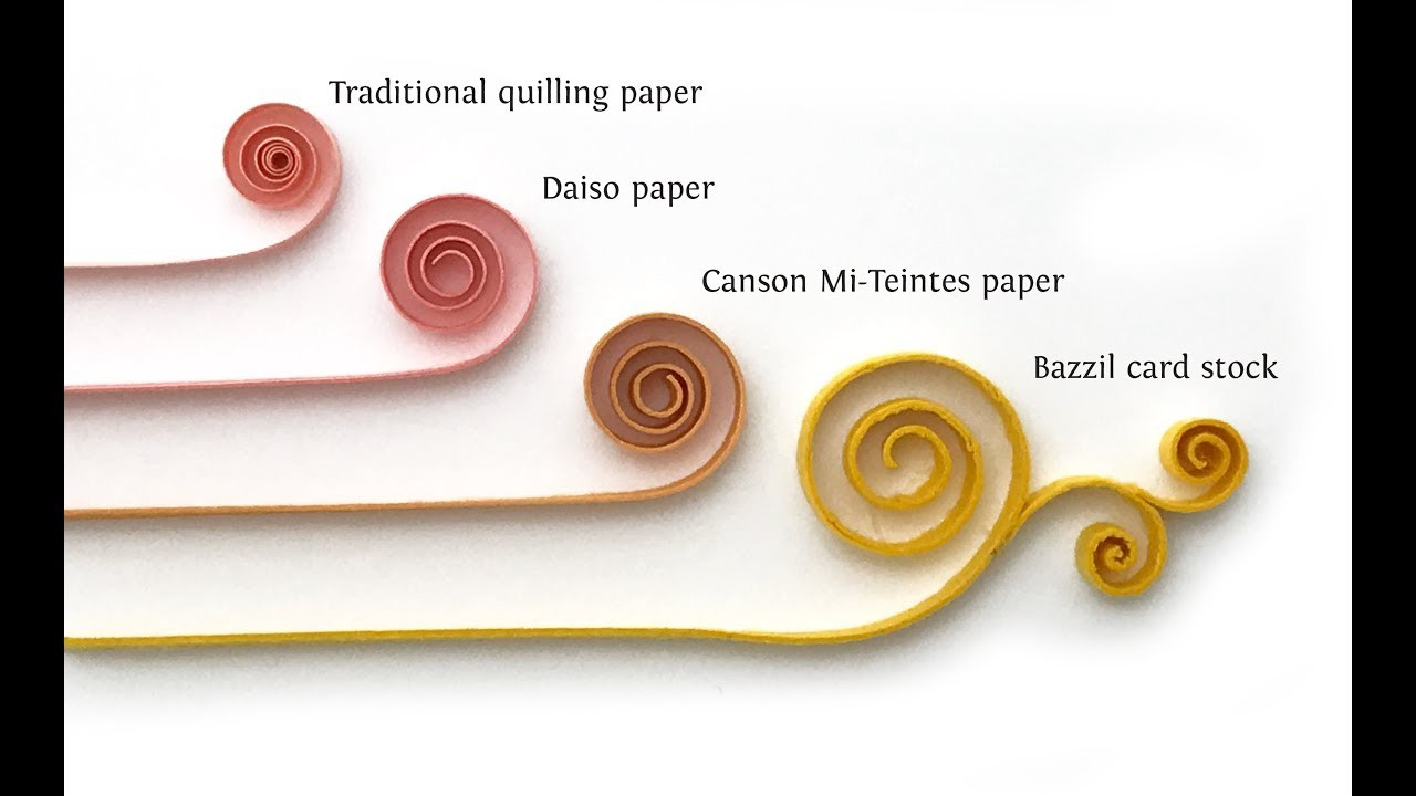 Quilling diy how to make quilling flower diy how to for How to make your own quilling paper