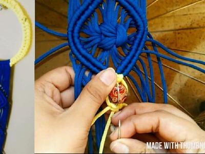 DIY MACRAME Key Holder | Key Stand#5 By My_Craft