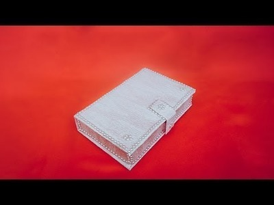 DIY * Secret Storage Box * How to make Storage Box Recycle cardboard * Tutorial