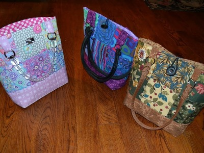 EPISODE 59 - Part 2 Quilted Fully Lined Tote Bag Tutorial