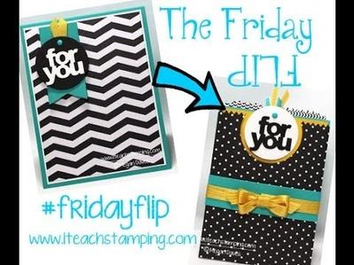 Friday Flip Using Mini Treat Bag Thinlits To Make A Pocket Card