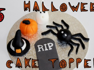 Halloween Sugar Paste Icing Fondant Cake Toppers | HappyFoods