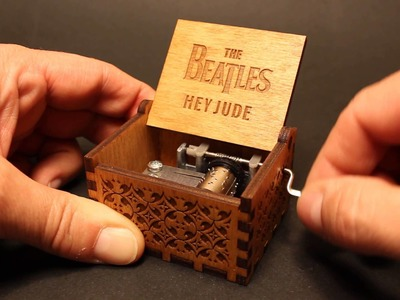 Hey Jude - The Beatles - Music box by Invenio Crafts