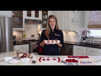 Holiday Recipes:  How to Make Strawberry Santas