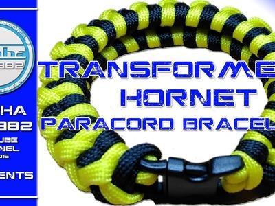 How to make a Paracord Bracelet Transformers Hornet
