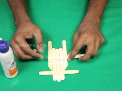 How to Make a Popsicle Stick Sled