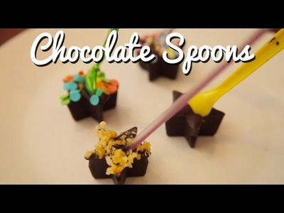 How to Make Chocolate Spoons (and Easy Chocolate Milk!)