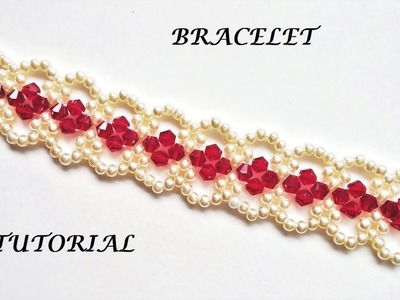How to make elegant bracelet. Diy