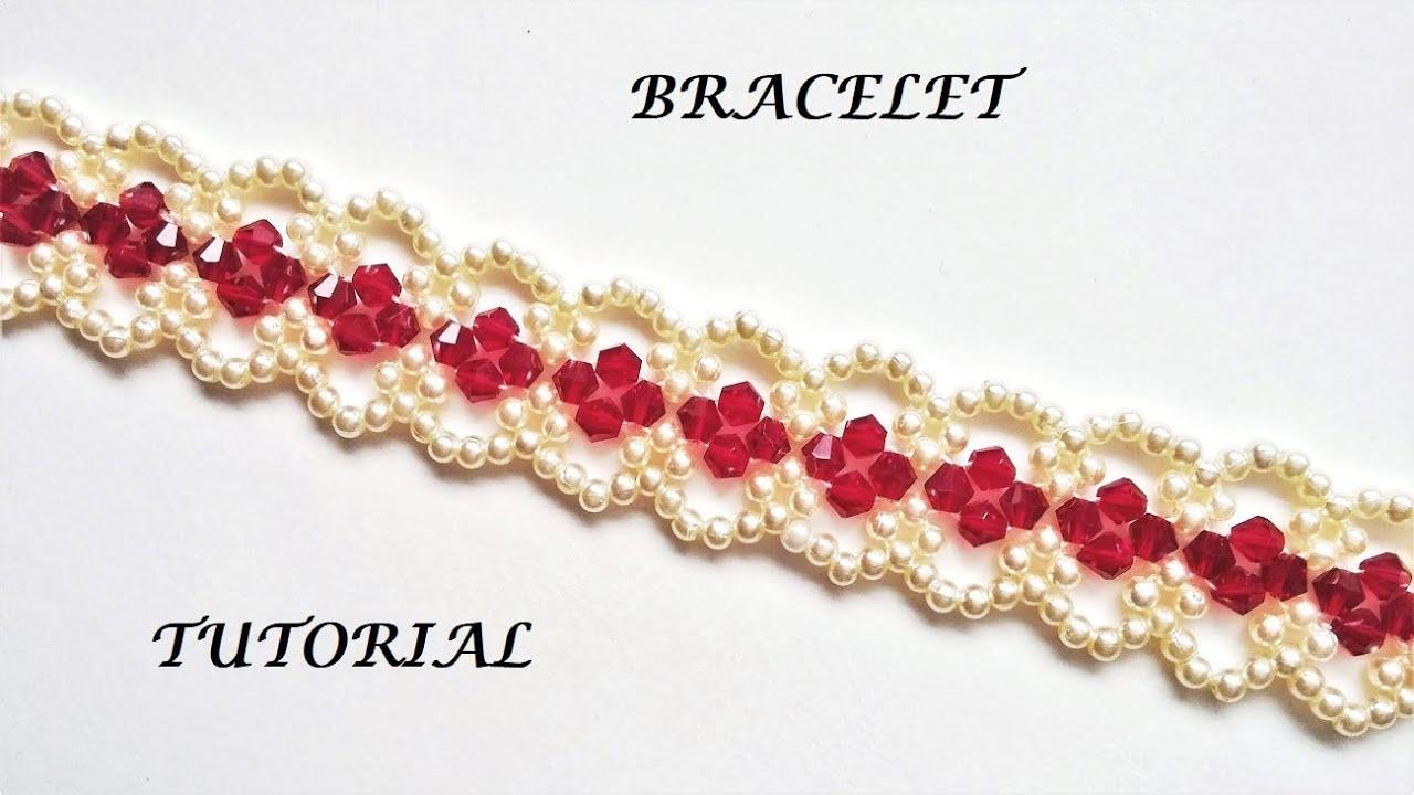 How to make elegant bracelet. Diy