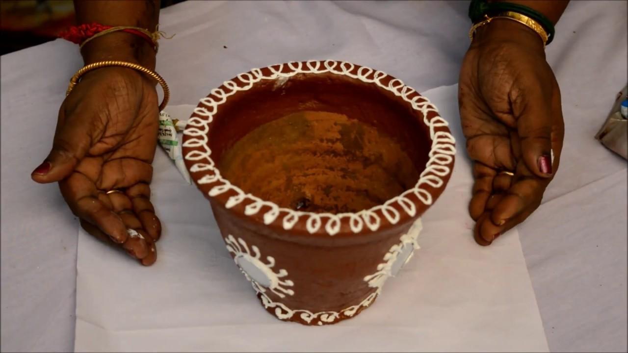 How to make Rajestani Pot Painting with Latha Mani Rajkumar
