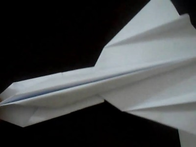 How to make SR 71 Blackbird out of Paper