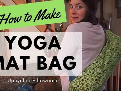 How to Make | Yoga Mat Bag | Up-cycled