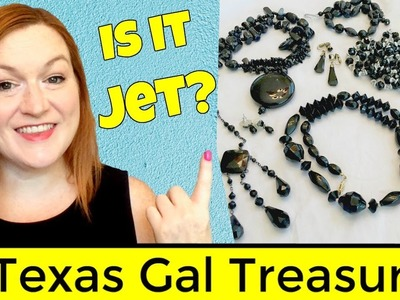 Is it Jet, Onyx, Obsidian, French Jet or Plastic? Tell the Difference - Black Stones in Jewelry