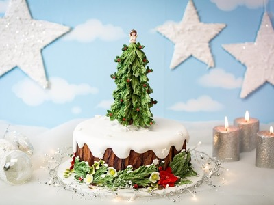 Karen Davies Sugarcraft - Christmas Tree - Mould. Mold Tutorial - How To
