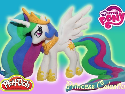 Making Princess Celestia using Play Doh
