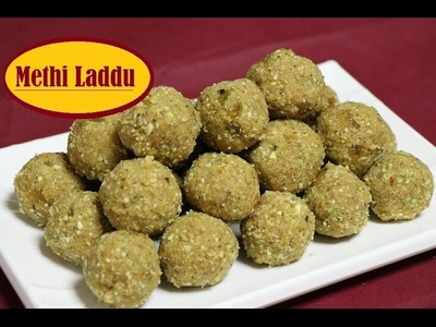 Methi Laddu Recipe I How to make Methi Laddu