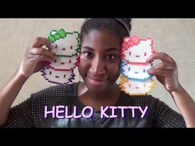 Multi-Color Hello Kitty Perler