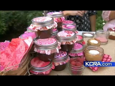 Murphy's company makes cupcakes in a jar