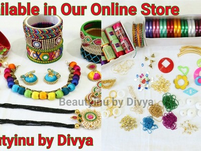Online Shopping:Our Collection & Jewellery material available for sale in our online store