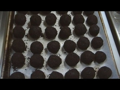 Oreo Cookie Balls! A New Holiday Treat! The Holidays are Coming!