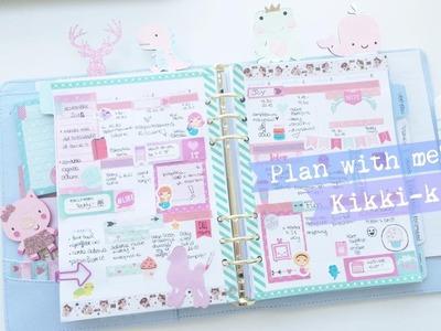 PLAN WITH ME- KIKKI-K A5 -Giada Giungi