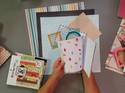 Project Use Your Stash: #12 (page kit process #2)